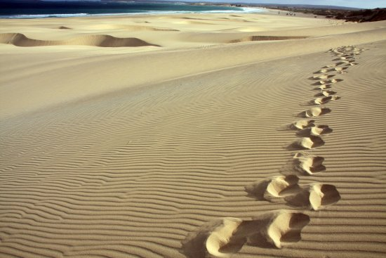 Cape Verde Islands Boa Vista Sand dunes Landscape
