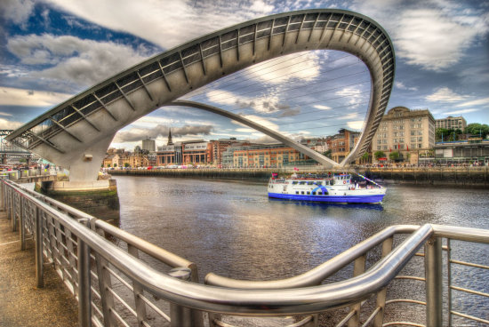 HDR Architecture Bridge Newcastle