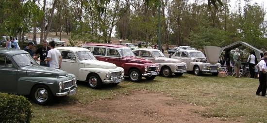 PV's displayed at Piston Ring Modderfontein 18th Dec '05 - VOC/SA