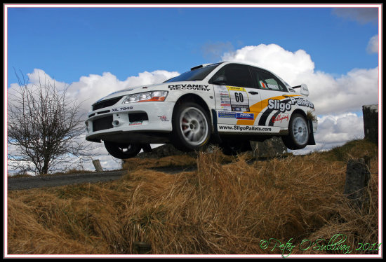 Rally Car Mayo Ireland Peter OSullivan