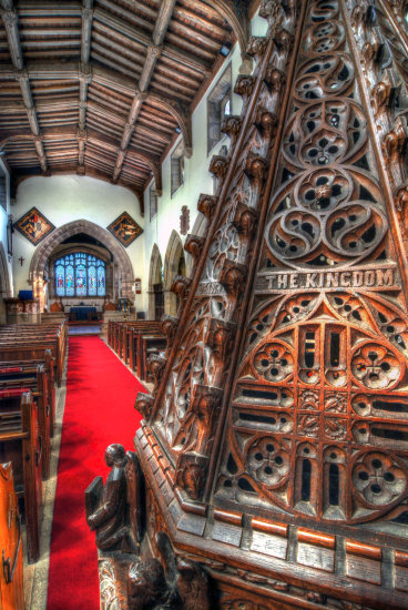 HDR Architecture Church Font