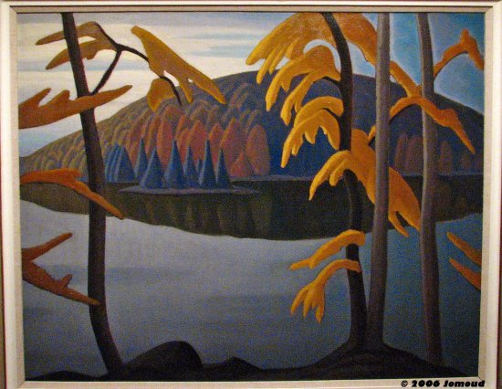 travel landscape art paintings GroupofSeven McMichaelGallery Canada