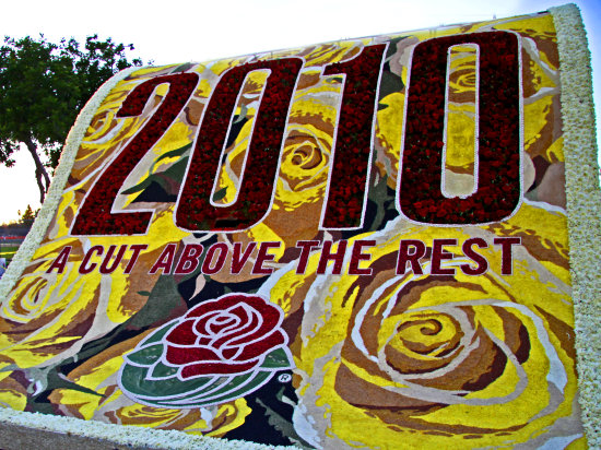 Theme of 2010 Rose Parade, Pasadena, Ca.