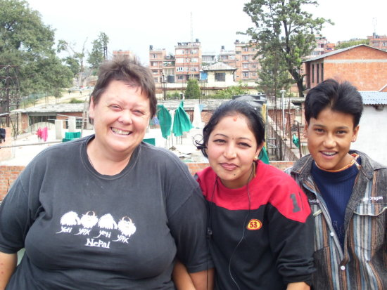 Nepal Bhaktapur Canteen Friends Weesue