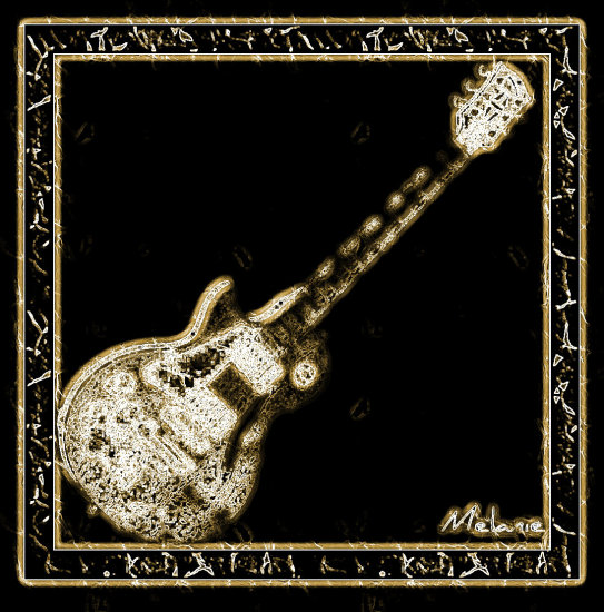 guitar electric digitalart digitalartclub mellie