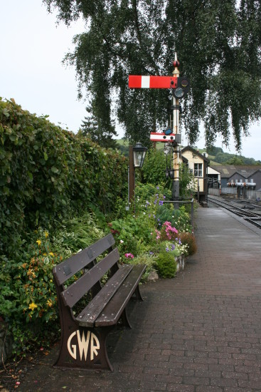 Sunday 28th July 2009 - Welshpool to Llanfair Railway  16. ...but it is a very pretty, well-kep...