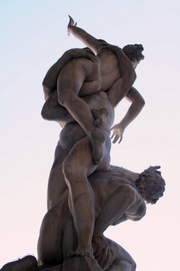 the rape of the sabines, giambologna