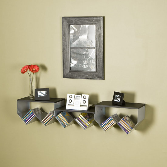 cd storage can be very creative and stylish. cdrackem has some