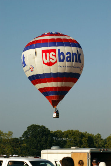 stlouis missouri us usa balloon hotair sport sky blue fly 2006