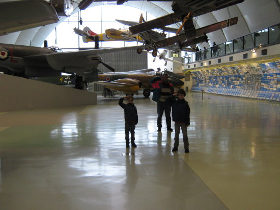 RAF Royal Air Force Hendon Base Museum London Watford Nephews Outing 2012