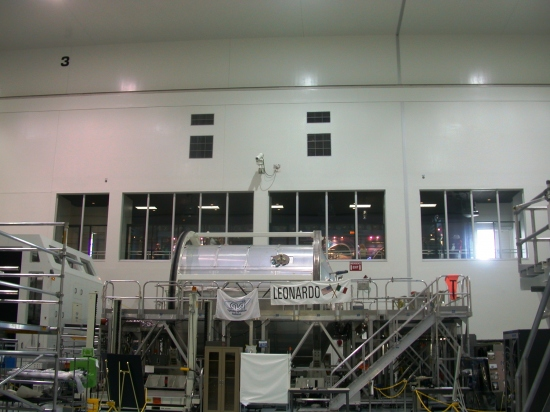 Leonardo Kennedy ISSPF Space Center Florida Station Processing Facility