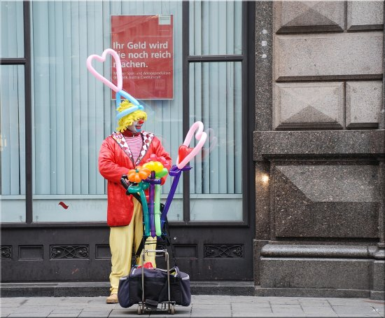 clown street Vienna