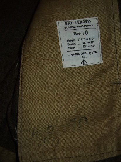 label 1943 pattern