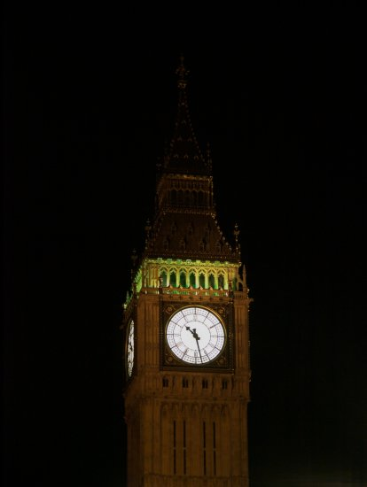 london westmister night bigben
