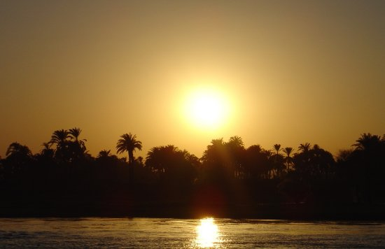 sunset Egypt