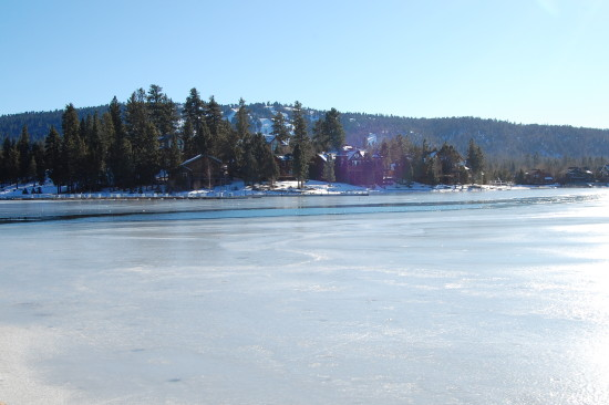 icy big bear lake mjghajar
