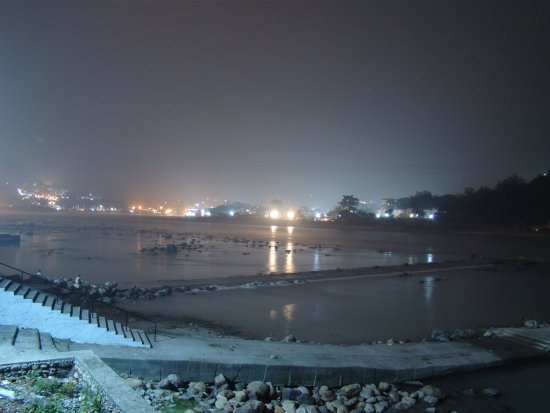Night at Rishikeshconfluence of River GangesFoothill of Himalaya