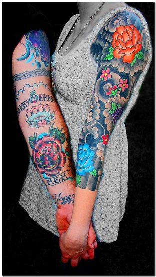 tattoos arms male female