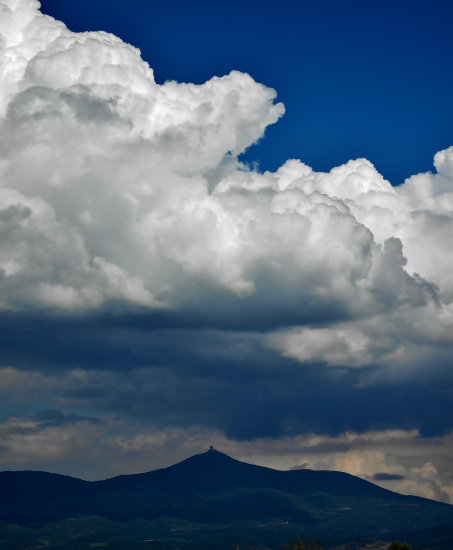 Clouds over the Chortiatis
