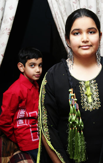 kids children Eid jhelum pakistan portrait