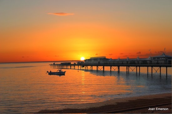 Paignton Pier at sun rise