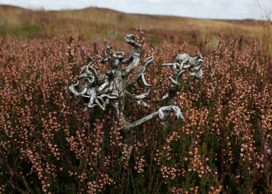 Cthulhu rising from the heather