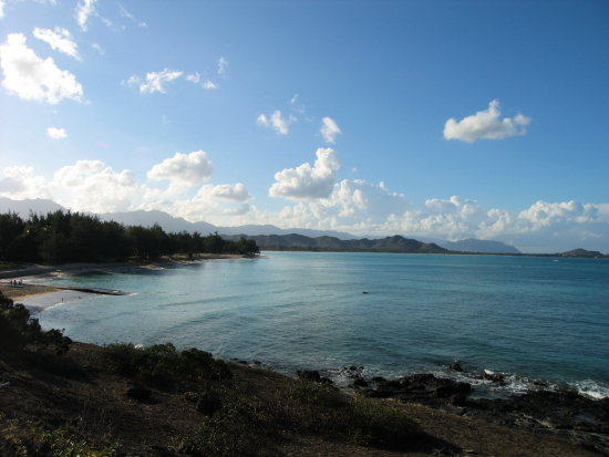 Kailua beach in Oahu Island