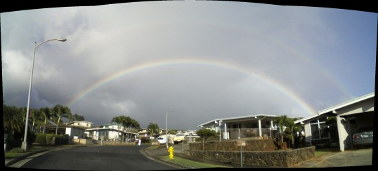 rainbow hawaii stitch