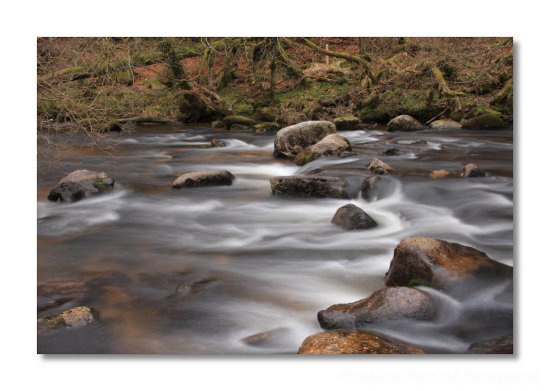 river dart stream dartmoor devon uk