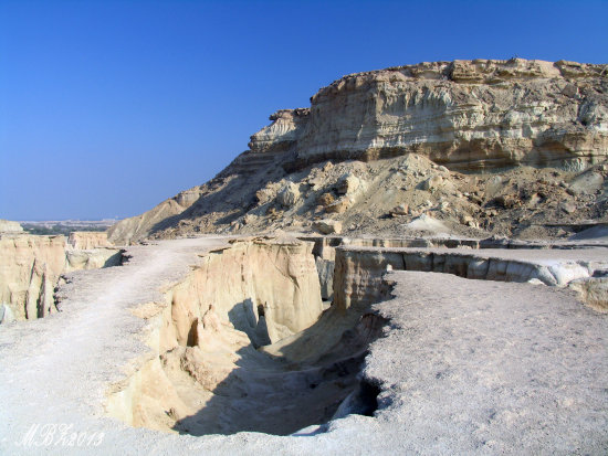 Iran Qeshm Island nature stars valley