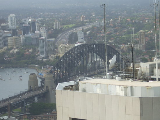 Veiw from the sky tower