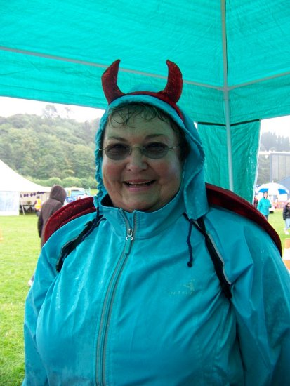 Dunedin Relay Rain Wet Fun Happy