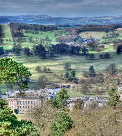 Peak District Derbyshire Chatsworth
