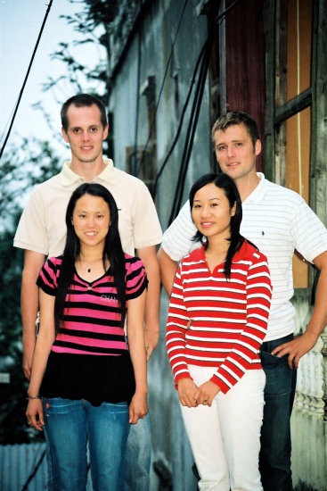 My Friends in Sapa. I met them in Sapa in summer. The 2 foreigners, Tommy from Denmark, Soren fr...