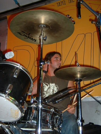 drummer umag croatia concert josip sustersic the favorutes band
