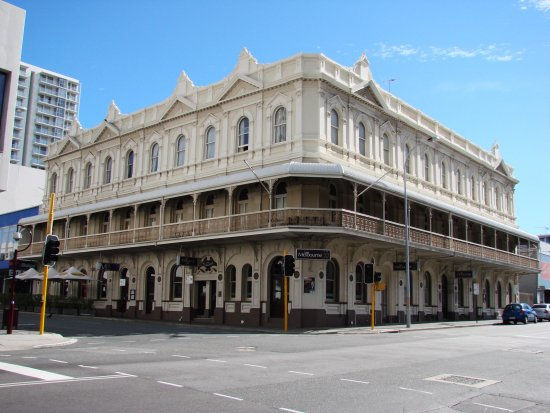 The Melbourne Hotel Old Style Building Early Australian Perth Littleollie