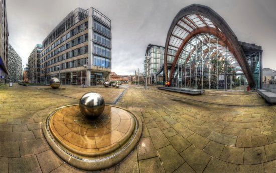 HDR Sheffield_CityCentre Winter_Gardens