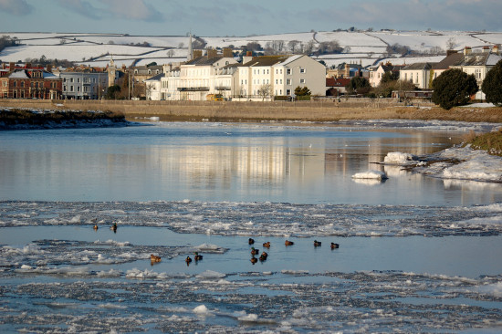 ice river taw barnstaple