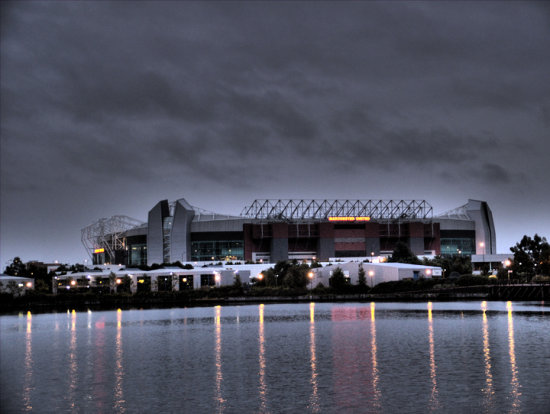 old trafford theatre of dreams manchester united