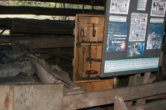 CADES COVE TENN BLACKSMITH SHOP