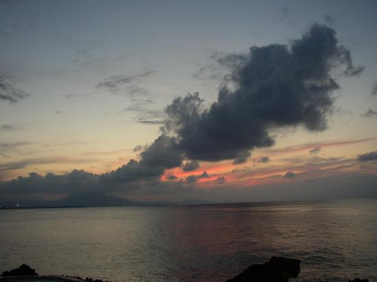 Sunset at Sosua in the Dominican Republic. (2004)