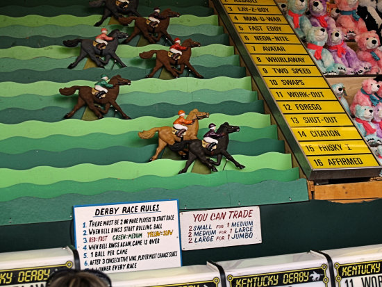 horse racing fair game