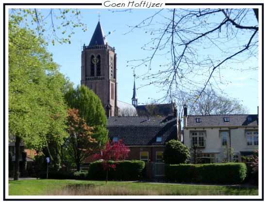 church mill building holland netherlands tholen landscape spring