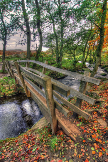HDR Landcspae Footbridge