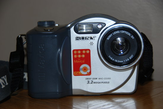 sony cd mavica camera