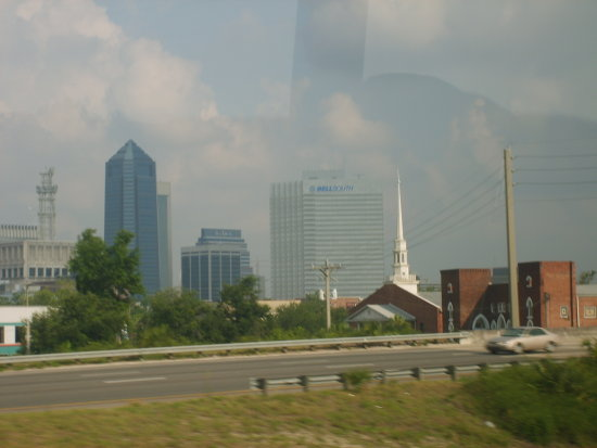 some city we drove by.....