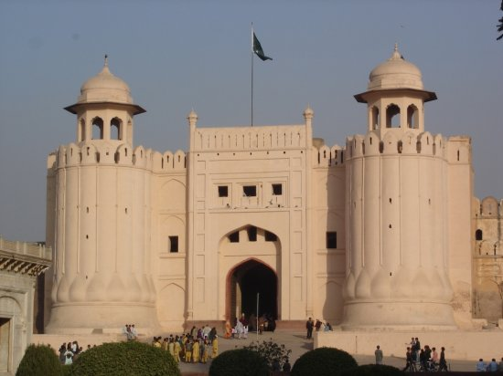 Pakistan Punjab Lahore Fort Royal Old Building Travel