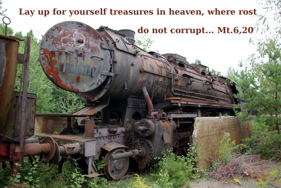 GOD is the only eternal treasure