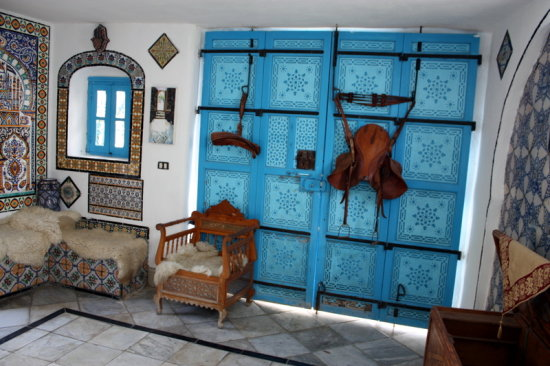 Blue Door of Morocco