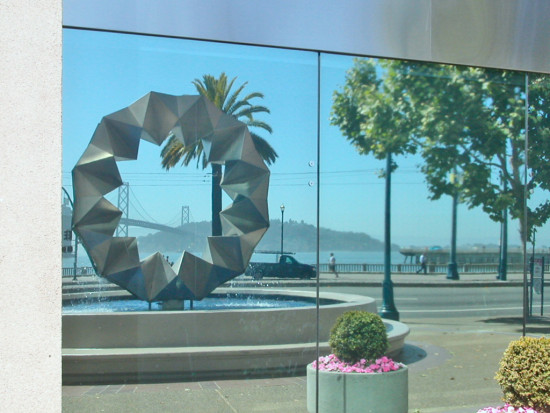 sanfrancisco waterfront sfwaterfrontfph reflectionthursday bridge island